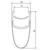 Mavic Cosmic Pro Carbon Exalith 17 - Ruedas - rueda trasera Shimano 25 negro
